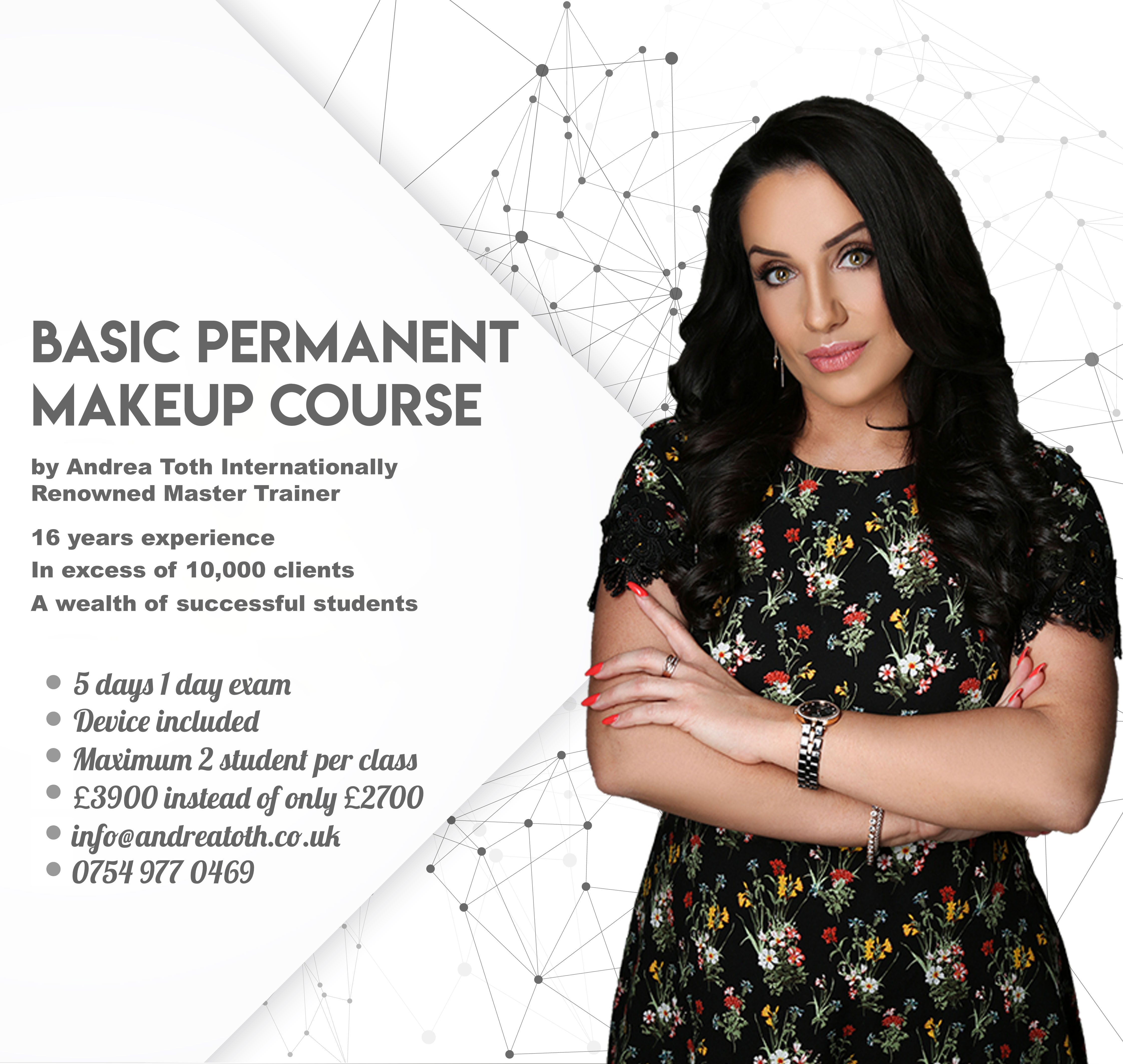 Permanent Makeup Basic Training 👩‍💼🇬🇧 30 OFF £3,900