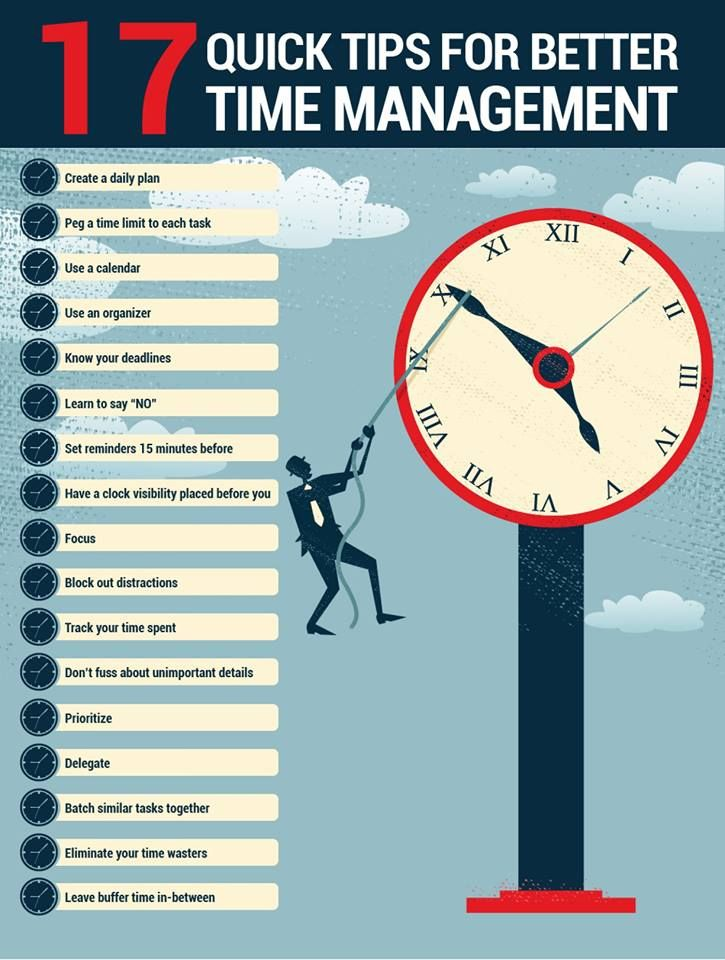 17 quick tips for better time management good time