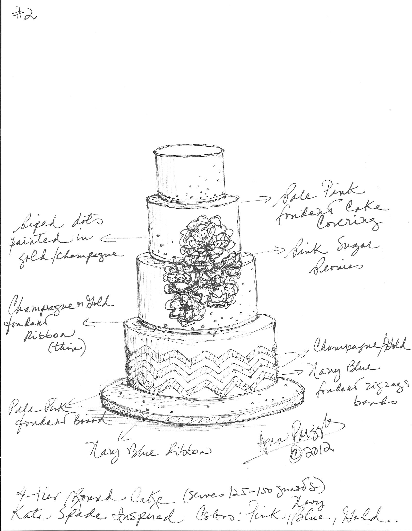 sketches of wedding cakes custom wedding cake sketch sketches 20176
