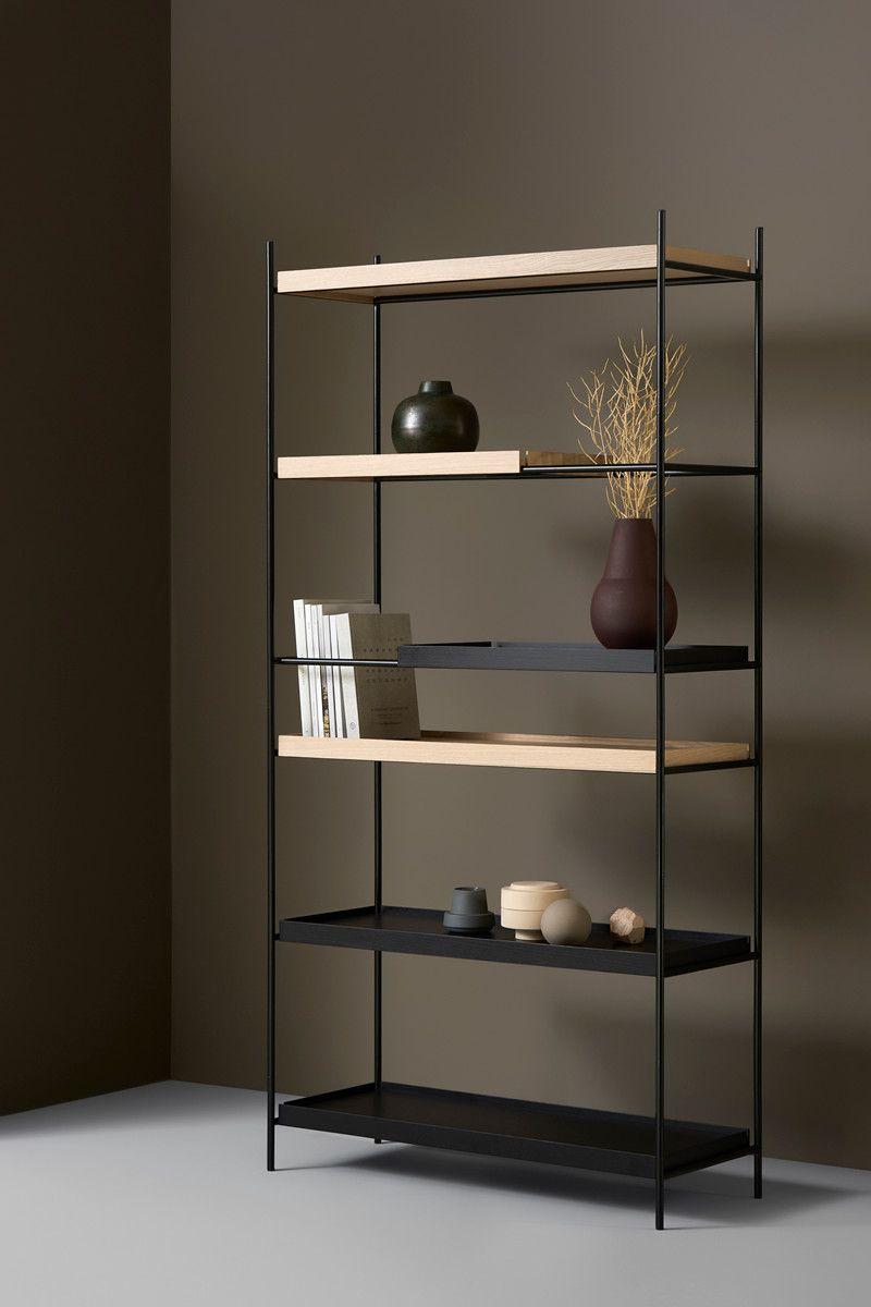 Tray Shelf High Kast Design Hanne Willmann Voor Woud