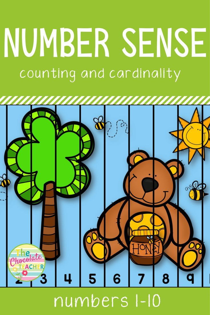 Number Sense to 10 Counting and Cardinality CCSS | Worksheets, Pre ...