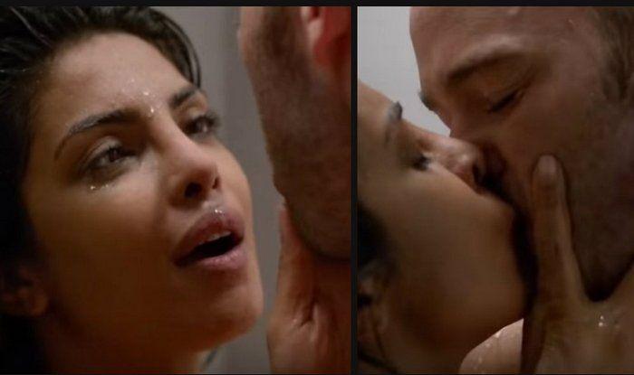 Shower interupted sex scene