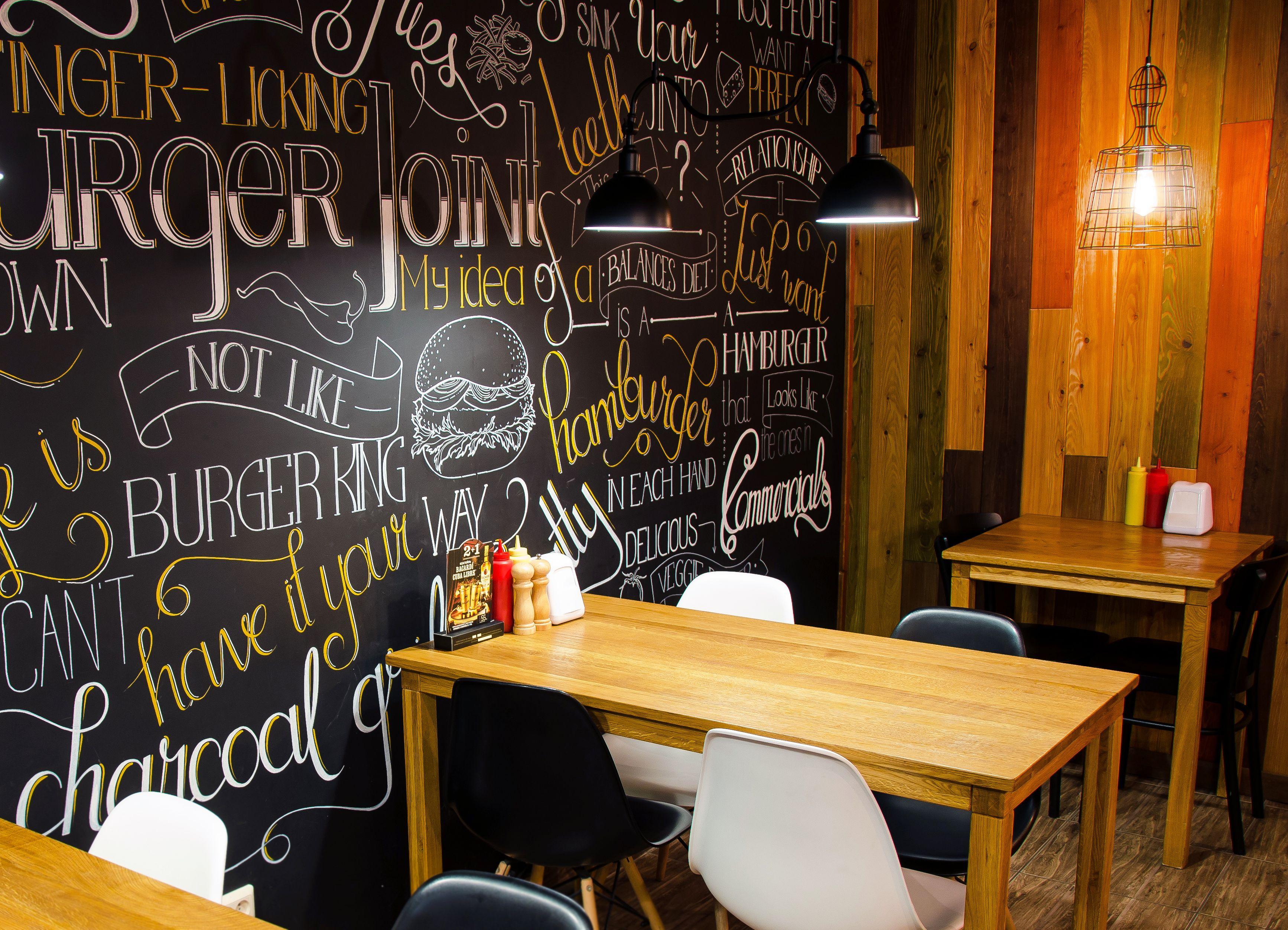 burger joint - cтудія hg interior design | restaurant | pinterest
