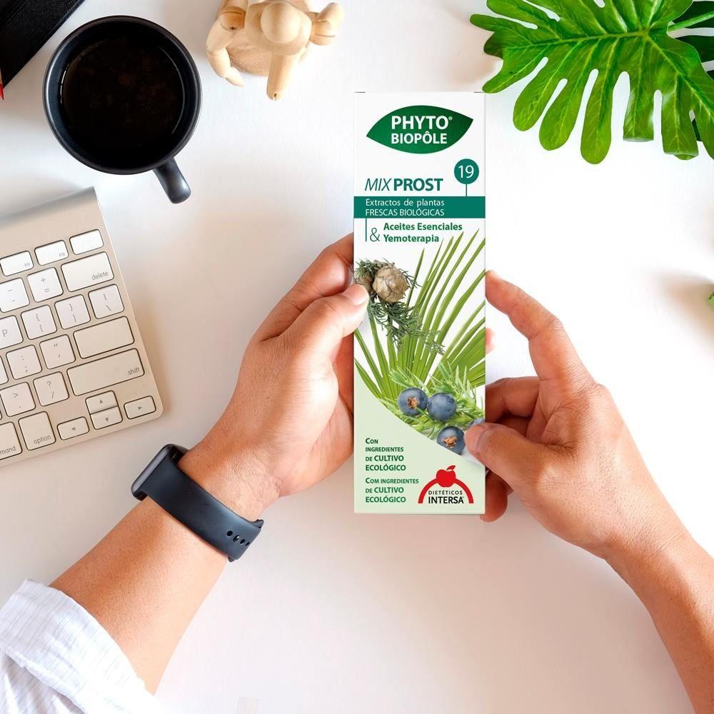 extractos de plantas para próstata