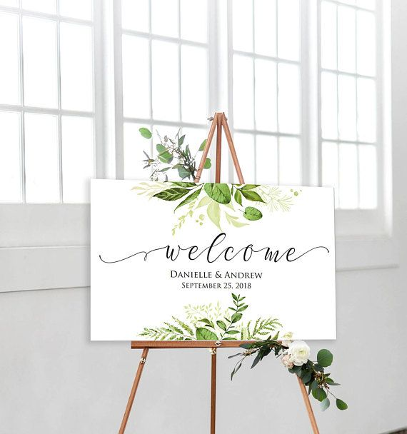 Wedding Welcome Sign Welcome Sign Template Printable Welcome