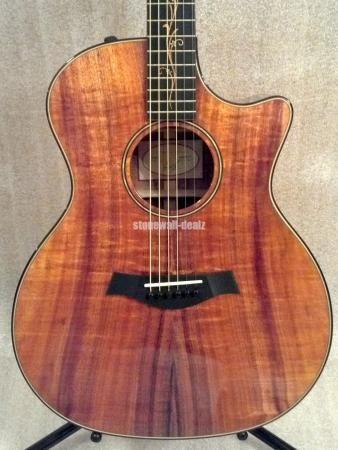 Taylor Koa K24ce Electric Acoustic Guitar W Hard Case Ebay Divertimento