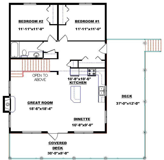 Cabin Plan 2011588 By E Designs Cabin Plans Building Plans House How To Plan