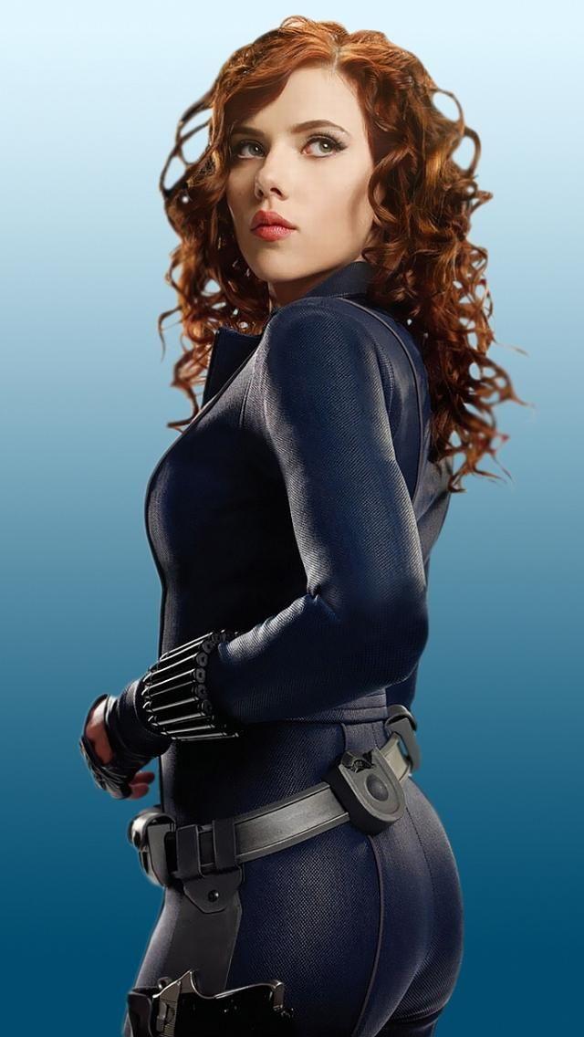 Scarlett Johansson Black Widow Avengers Black Widow