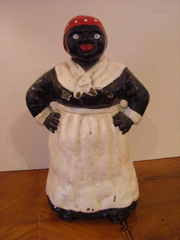 Aunt Jemina Cast Iron Door Stop, Circa 1900 For Sale | Antiques.com |  Classifieds - Aunt Jemina Cast Iron Door Stop, Circa 1900 For Sale Antiques.com