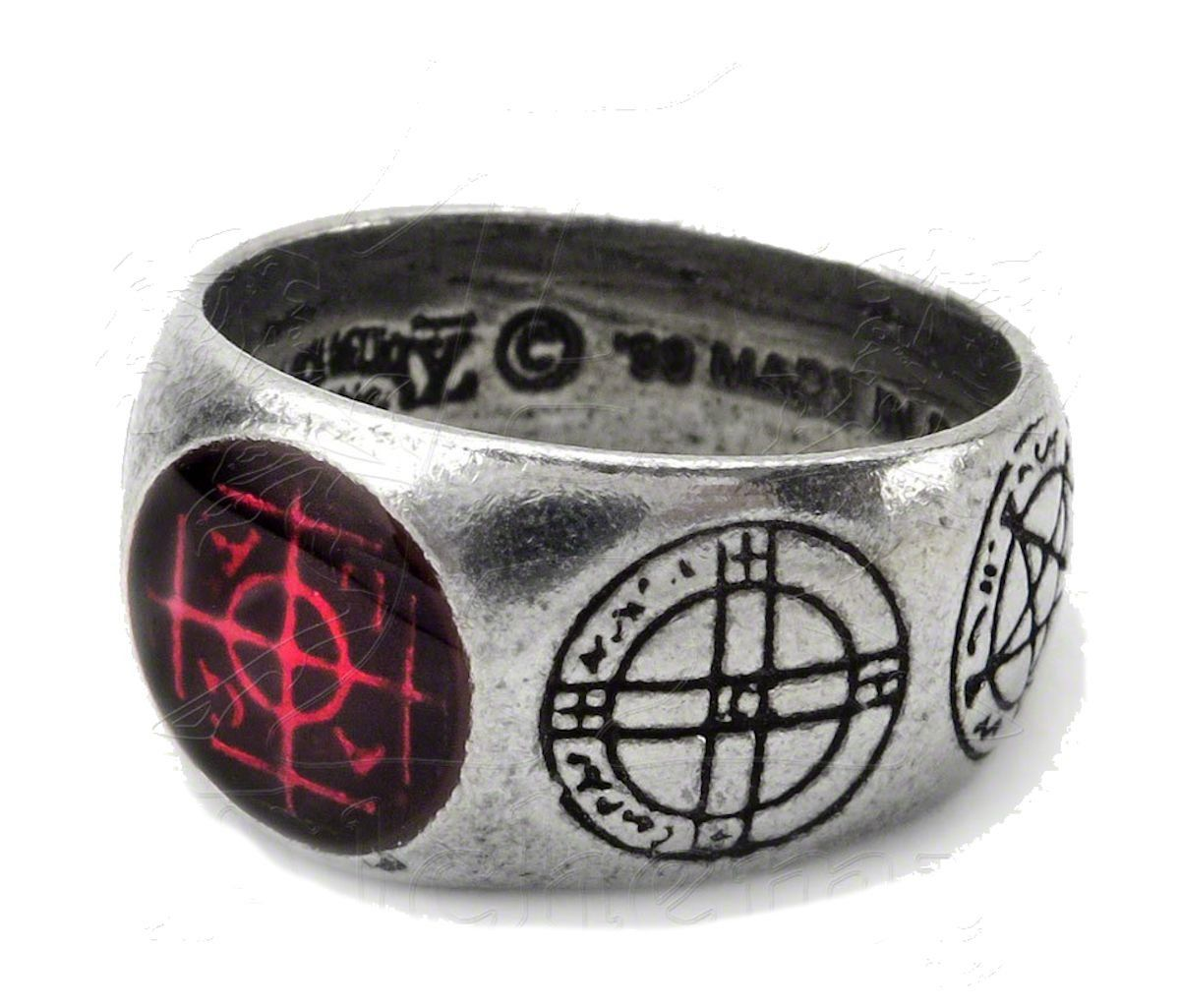 wiccan convergence rings at pagan jewelry enameled pentagram ring jewerly mystic witchcraft toe roseus supplies pewter finger