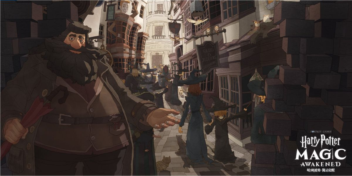Harry Potter Magic Awakened Is A New Mobile Card Rpg But It S Only In China For Now Harry Potter Rpg Rpg Harry Potter Magic