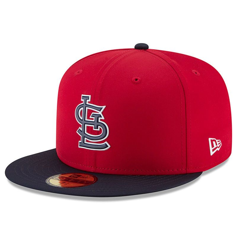 hot sales 001f3 c392b St. Louis Cardinals New Era 2018 On-Field Prolight Batting Practice 59FIFTY  Fitted Hat – Red