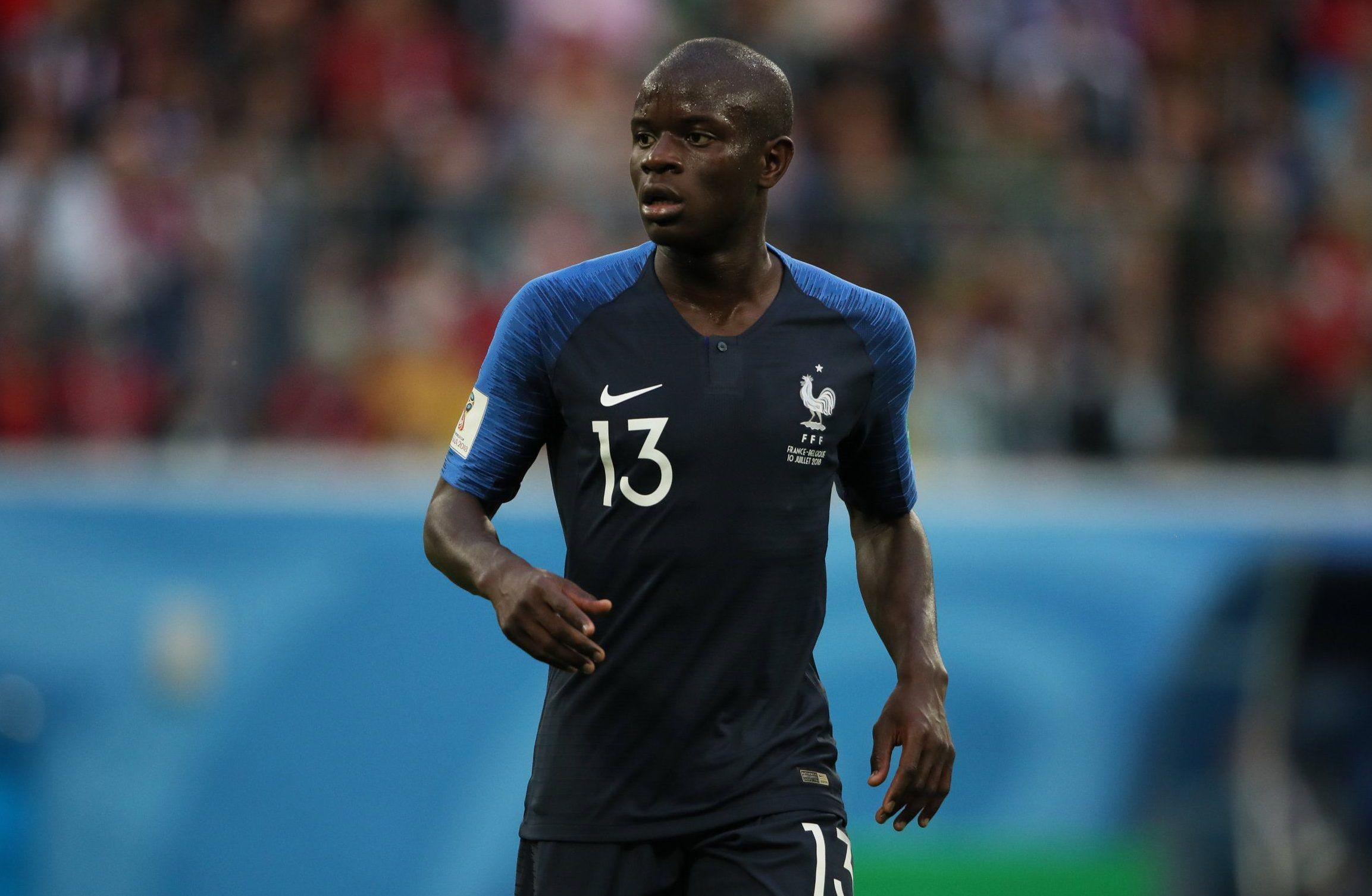 Arsene Wenger hails N'Golo Kante after France beat Belgium