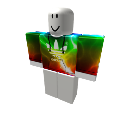 [C H E A P] Rainbow Electric Adidas - ROBLOX