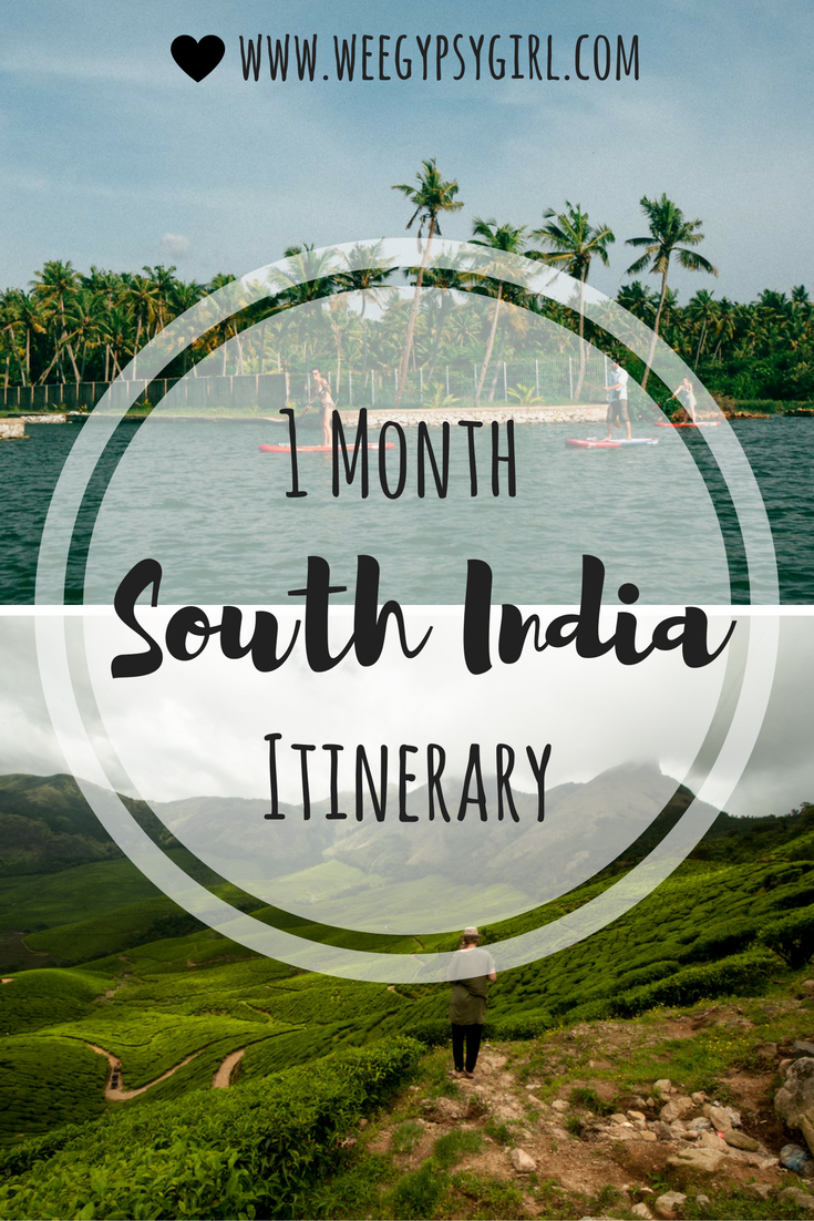 Want to spend one month travelling through Kerala, Goa and Karnataka? Click here…