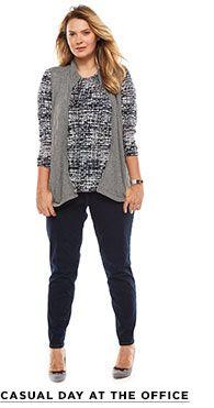 Womens Plus Size Clothing: Plus Size Dresses, Tops & Pants | Kohl\'s ...