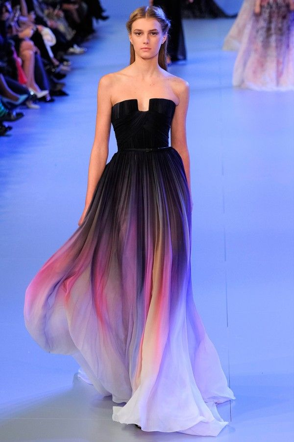 Elie saab 39 s ss14 show at paris haute couture fashion week for Haute couture translation