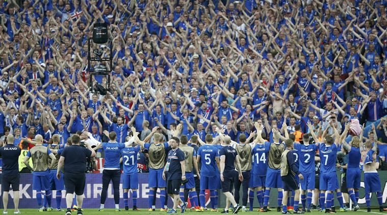 We could not be more proud of our national football team nor the Icelandic supporters who have been following the team showing them and the game tremendous love and support during the Euro cup in France. Little Iceland is in the quarter-finals after an epic win against England's national team and the whole population of Iceland is celebrating like never before! #iceland #football #Euro2016 #icelandtravel