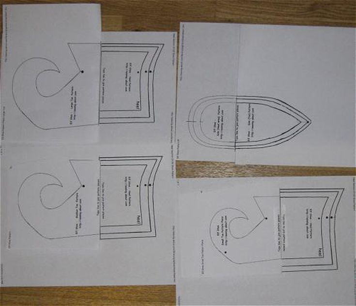 Need An Elf Costume Use This Free Pattern To Sew Your Own Shoes