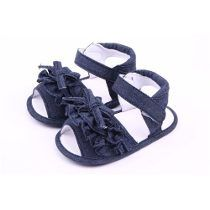 sandalias de jeans para bebes - Buscar con Google                                                                                                                                                     Más