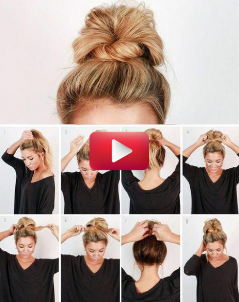 43+ Hairstyles buns messy step by step inspirations