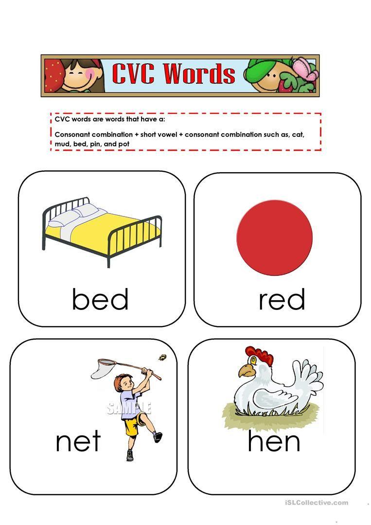 Cvc Words Worksheets For Kindergarten In 2021 Cvc Words Cvc Words Worksheets Writing Cvc Words [ 1079 x 763 Pixel ]