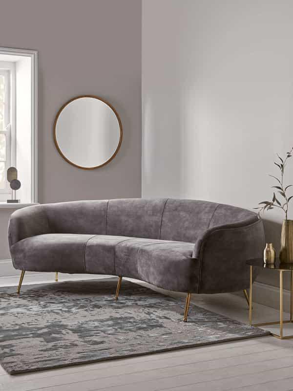 Curved Sofa Uk 10 Photos Image And Description Designwalls Com Curved Sofa Curved Sofa Living Room Sofa Furniture