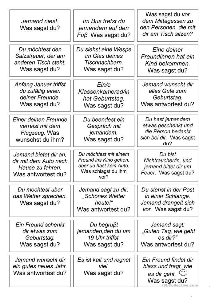 Mündliche Aufgabe | ideen | Pinterest | German, Language and Learn ...