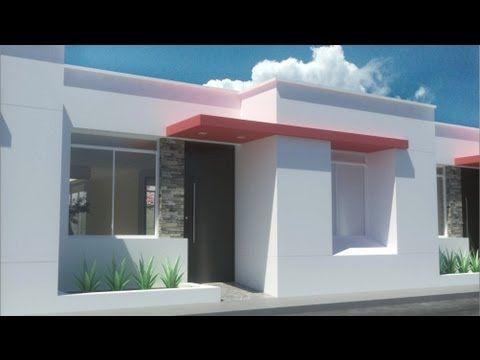 Casa moderna de x un piso condominio valle for Fachadas de casas modernas youtube