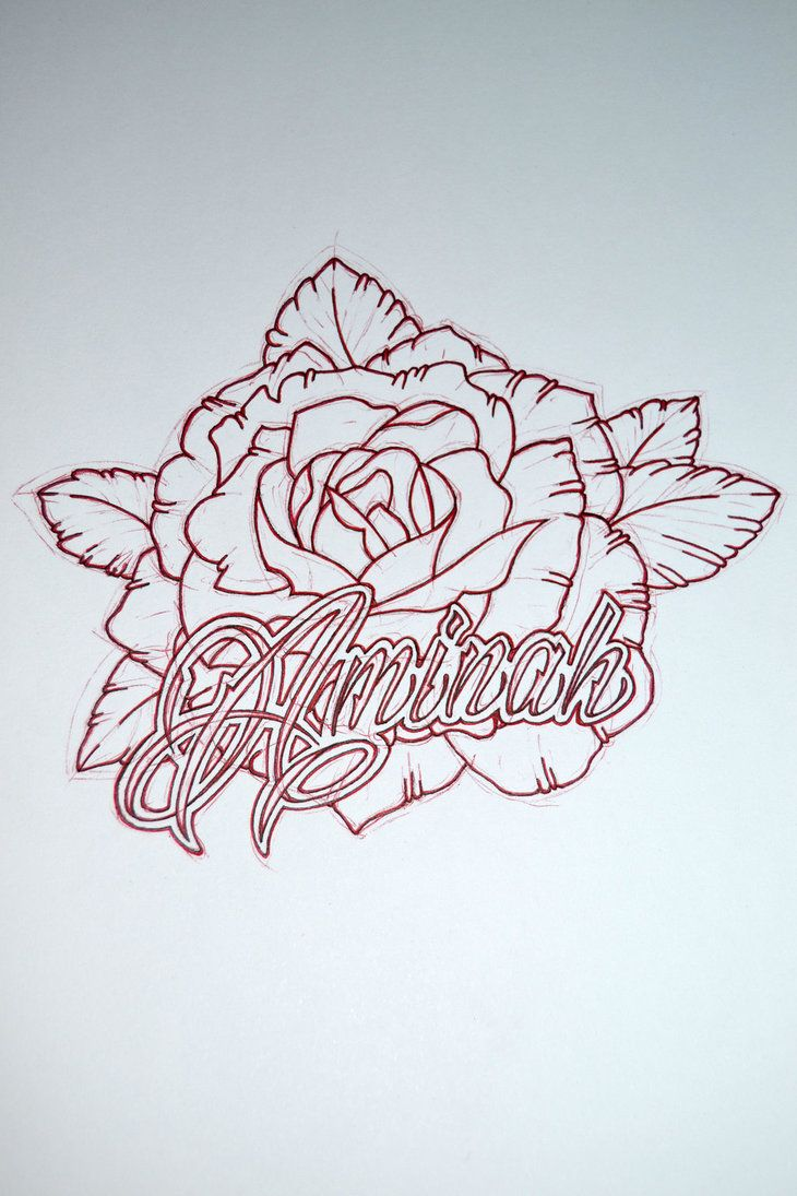 Name tattoo designs free - Tattoo Design With My Unborn Daughters Name By Avengedginge On