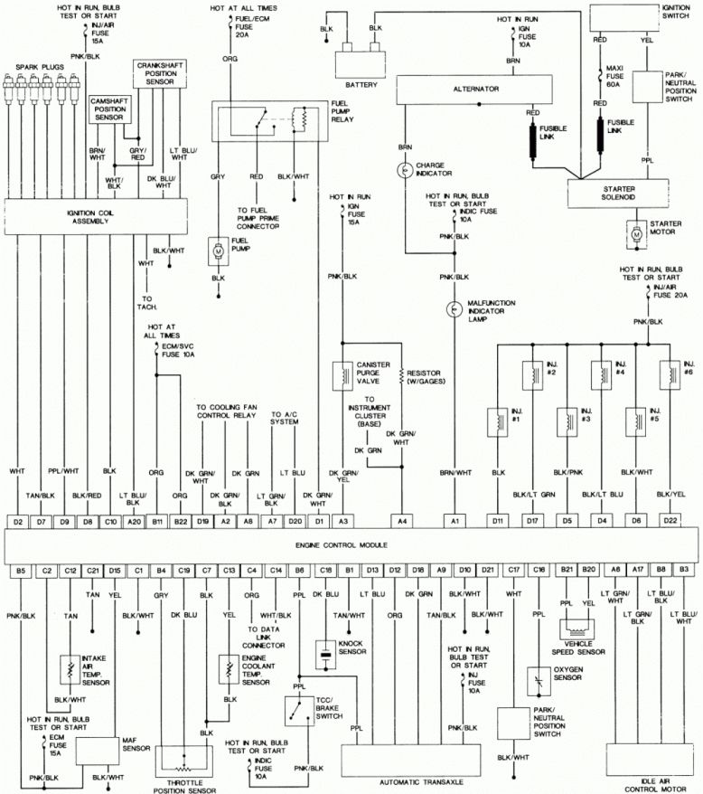 Engine Wiring Diagram and Pontiac Grand Prix Engine