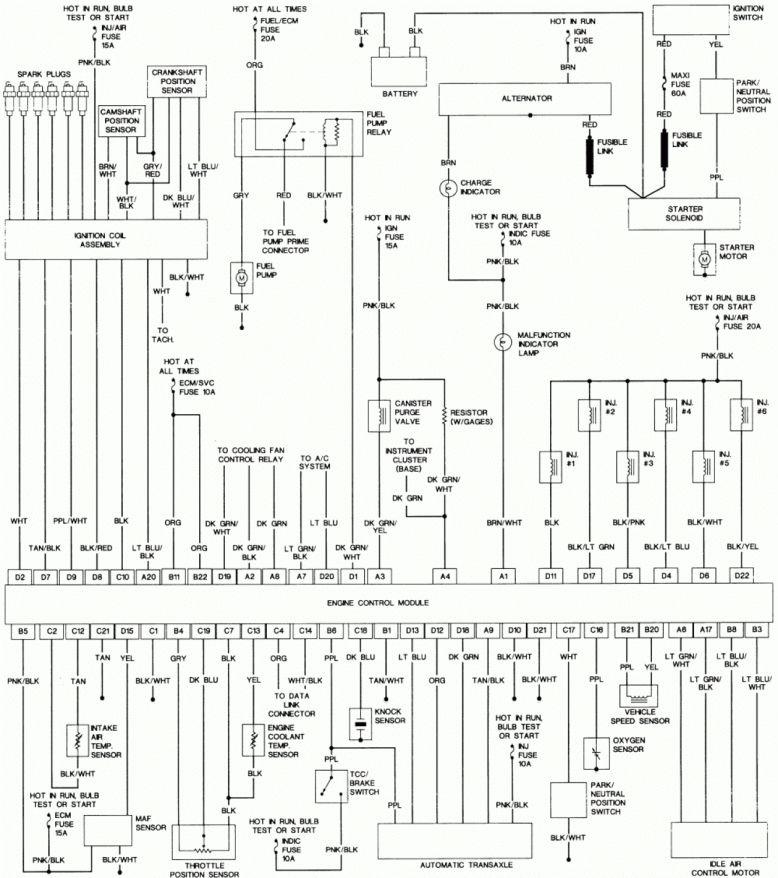 Engine Wiring Diagram And Pontiac Grand Prix Engine