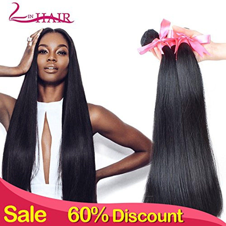 Lin Hair Brazilian Virgin Straight Hair Bundle 100 Unprocessed