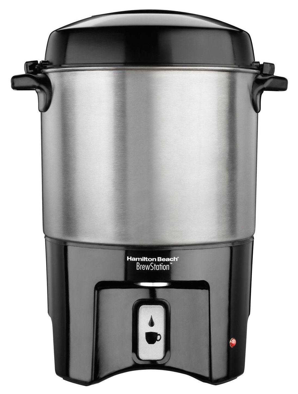 Hamilton beach 40cup brewstation urn coffee urn