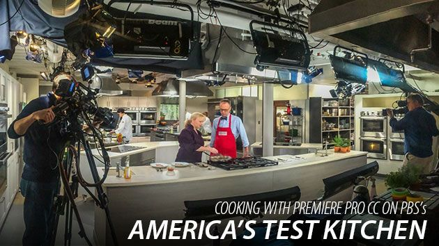 Creativecow Presents Cooking With Premiere Pro Cc On Pbs S America S