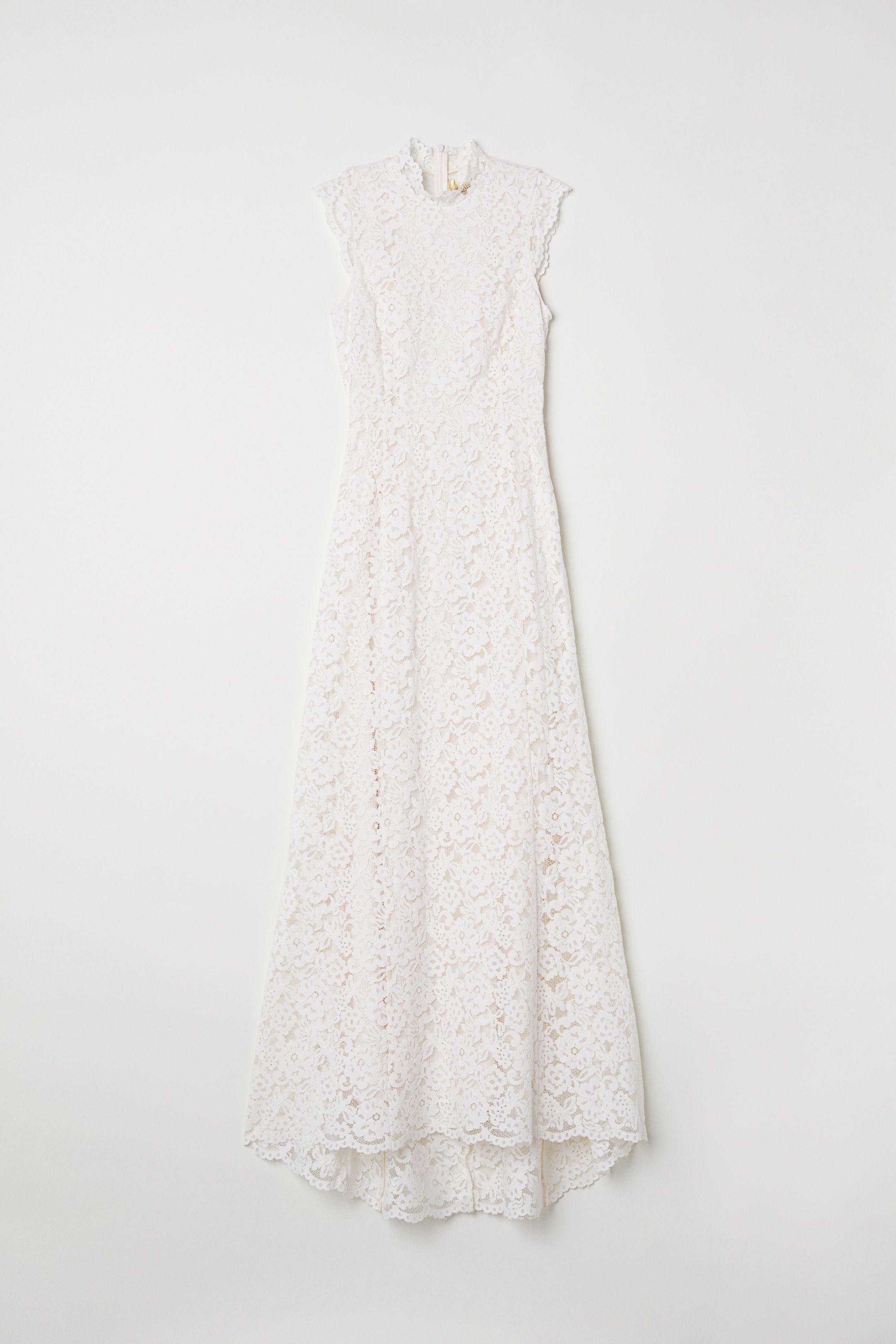 Black lace dress for summer wedding  Long lace dress  Cream  Ladies  HuM  Wedding Ideas  Pinterest