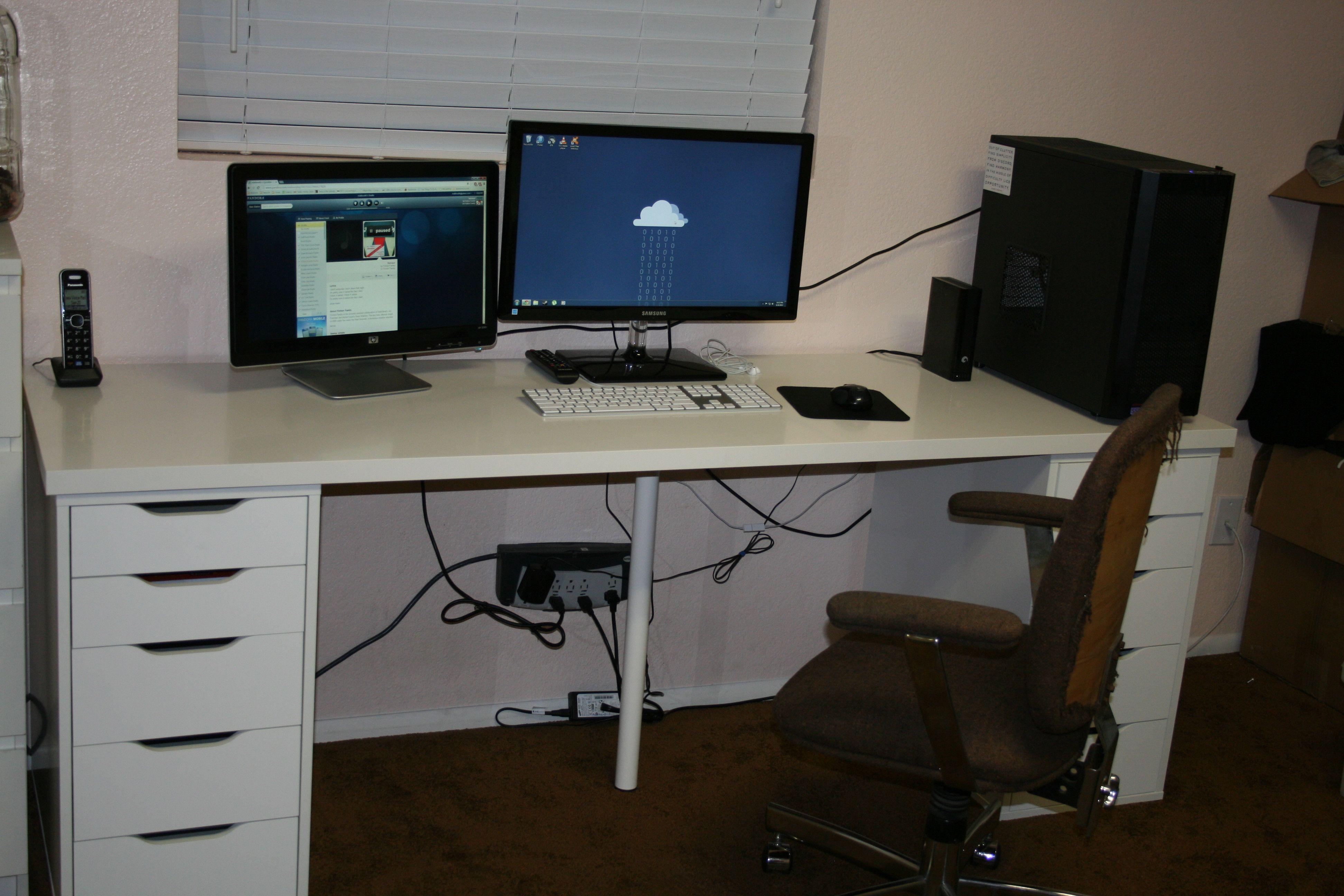 My battlestation desk ideas pinterest home office desks desk