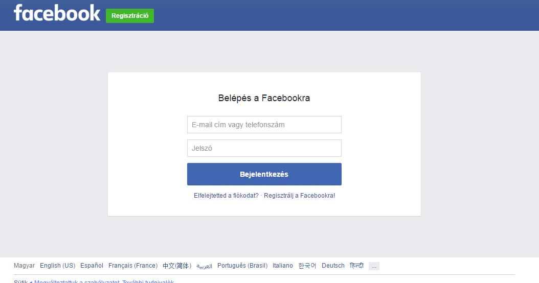 Www.Facebook.Hu Bejelentkezés