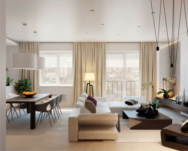Wunderbar 43 Prächtige Moderne Wohnzimmer Designs Von Alexandra Fedorova