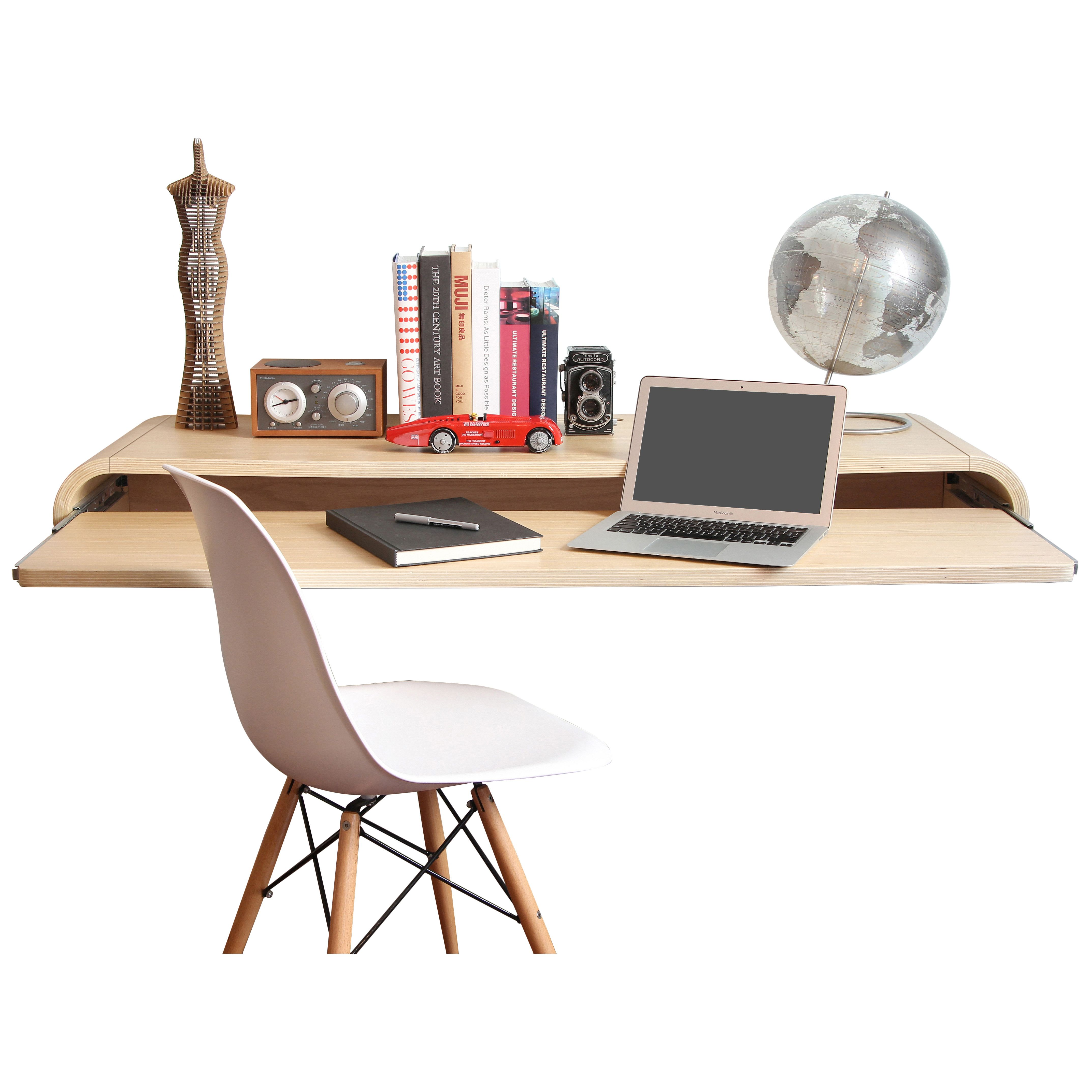 Space Saver: 17 Wall-Mounted Desks to Buy or DIY   Wall mounted desk ...