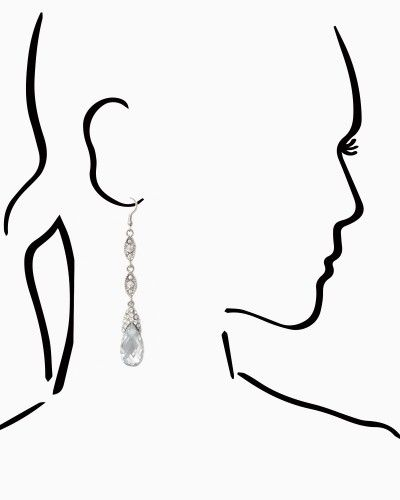Teardrop Majesty Earrings | Jewelry - RSVP Special Occasion | charming charlie