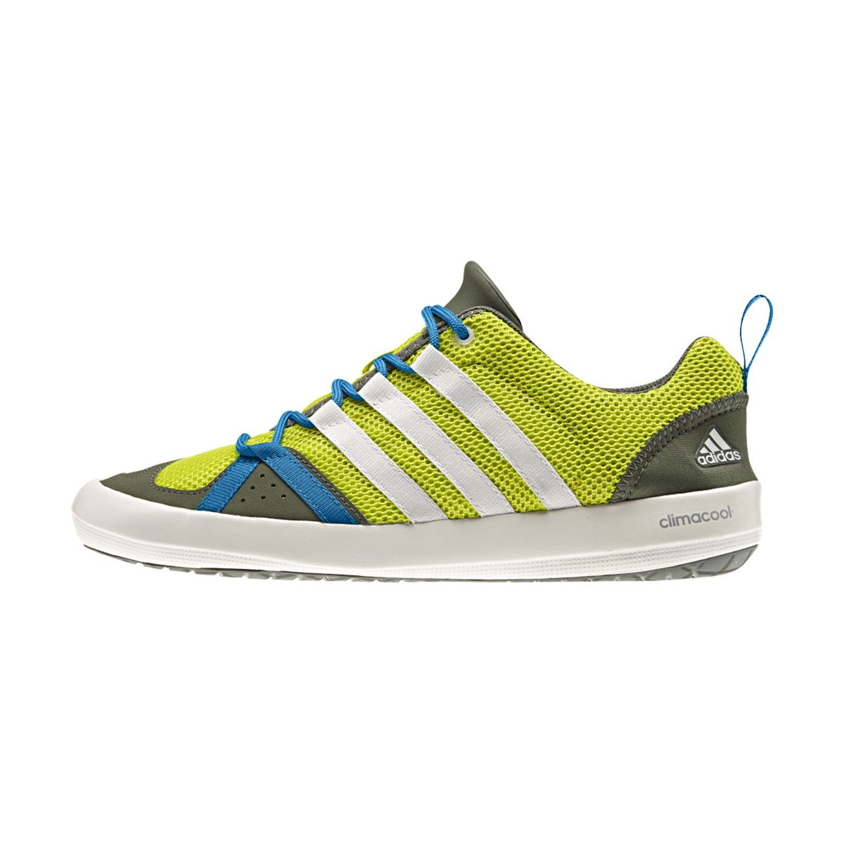 Adidas Outdoor ClimaCool Boat Lace Water Shoe - Men's Semi Solar Yellow/Chalk  White/