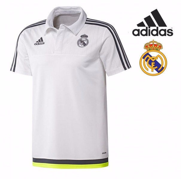 Polo Real Madrid Casual White