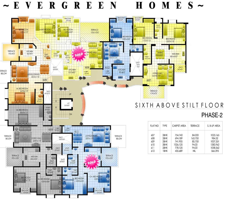 apartment structures | Apartment floor plans of shri krishna ...