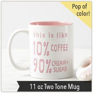 Coffee Ratios U2013 Low Star Studio | Funny Mugs | Sweet Coffee | Girly Mug |
