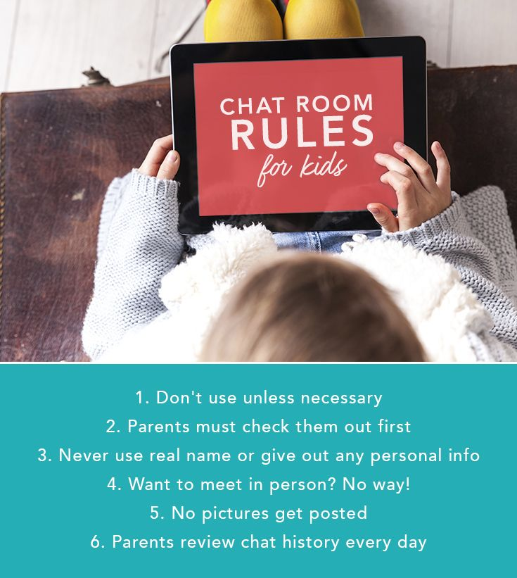 Are Chat Rooms for Kids Safe? | Rules for kids, Kids safe ...