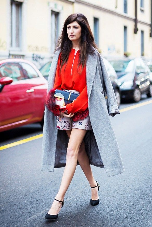 How to Master the Oversized Outerwear Trend (Without Looking Bulky) via @WhoWhatWear