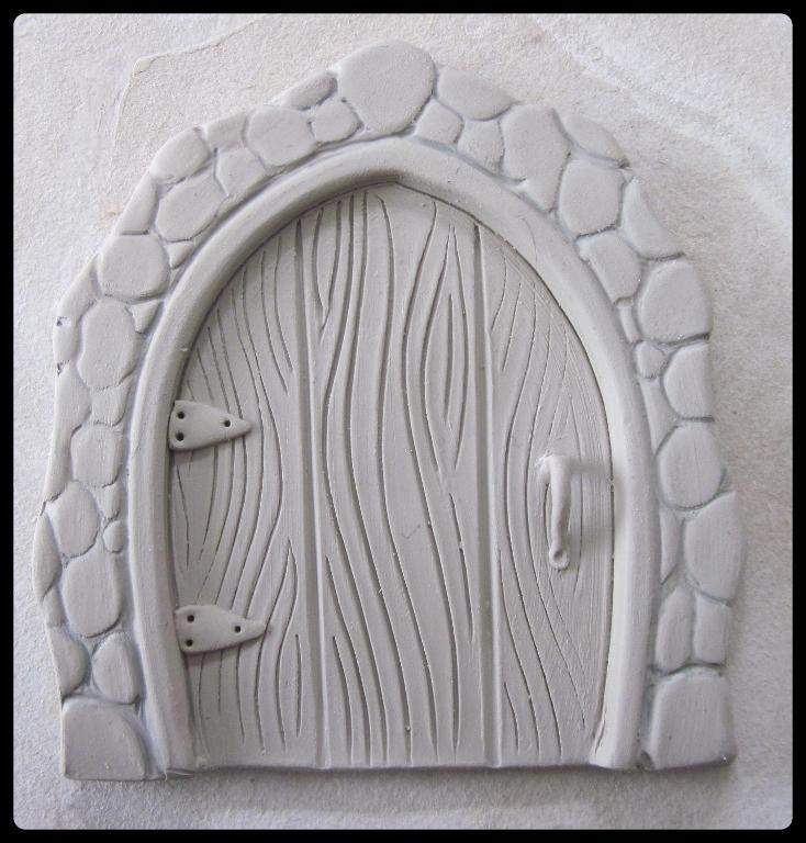 Clay fairy door tutorial clay fairies fairy doors and clay for Fairy door pattern