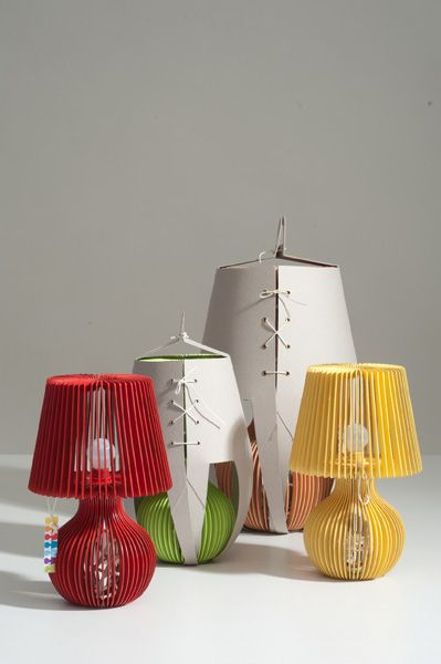 table lamp with packaging