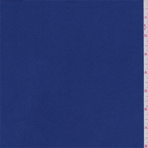 Sapphire Blue Sueded Charmeuse